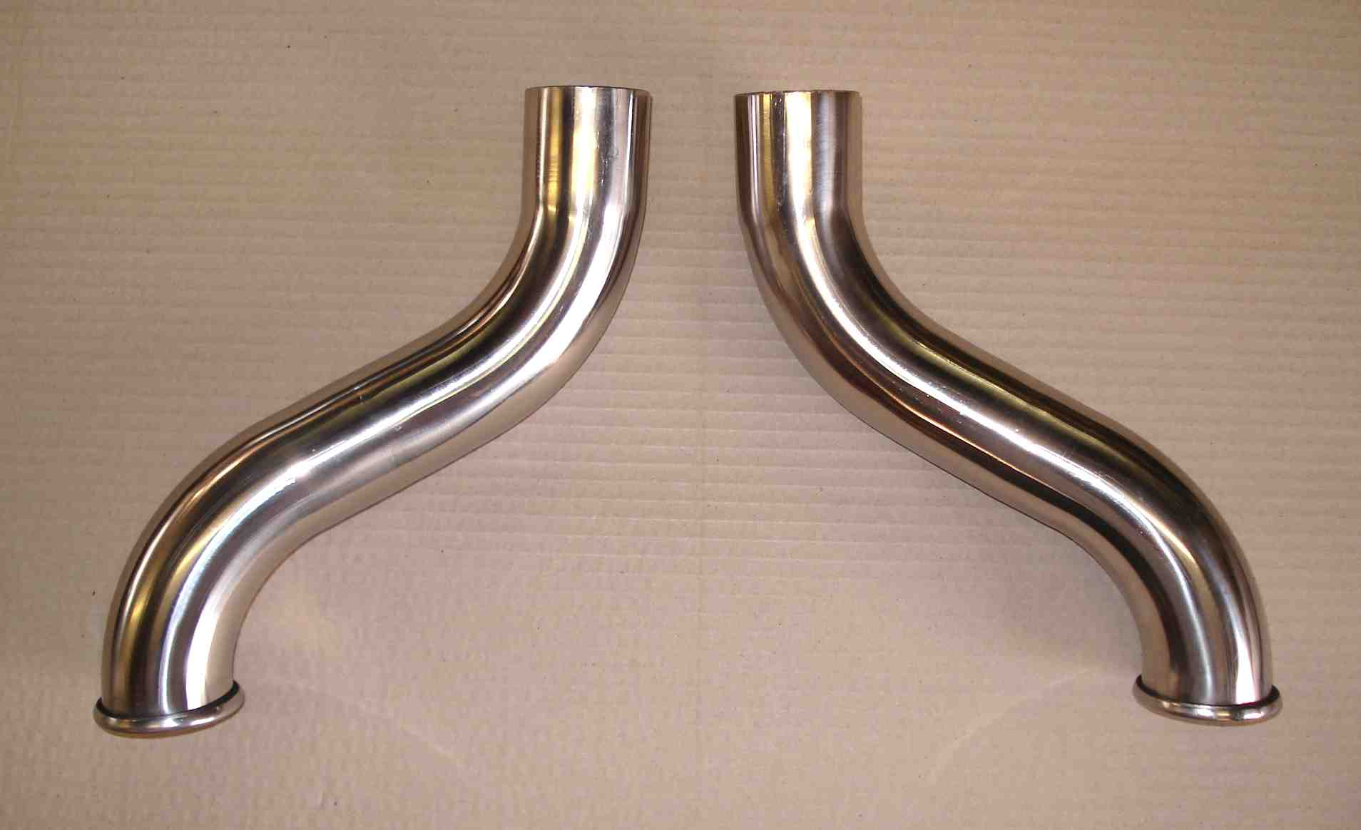 Large bore XJ6/12 tail pipes