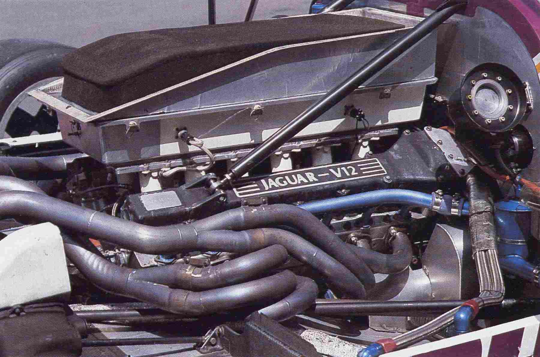 Tuned length multi-branch system of Jaguar XJR-9